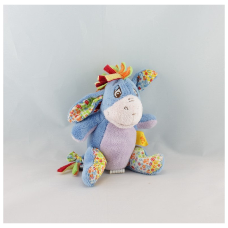 Mini Doudou Bourriquet Créte multicolore Disney