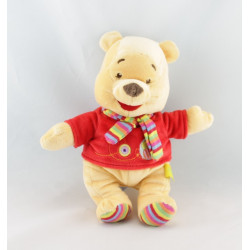Doudou Plat Winnie l'Ourson Jaune rouge abeille DISNEY BABY