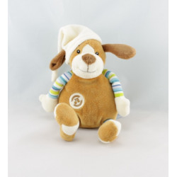 Doudou chien beige marron GIPSY