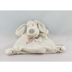 Doudou plat éléphant gris Doux Calins Les Jouets Tout Compte Fait