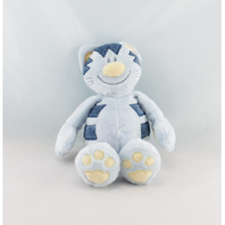 Doudou Pattou chat bleu NATTOU
