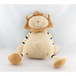 Doudou lion écru beige TIAMO