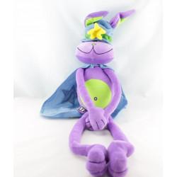 Doudou lapin violet TISSEA