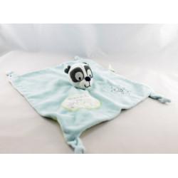 Doudou plat ours panda bandits du ciel KIABI KITCHOUN