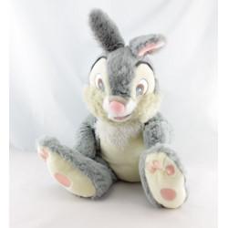 Peluche lapin gris Pan-pan l'ami de Bambi DISNEY