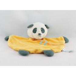 Doudou plat panda rose ORCHESTRA