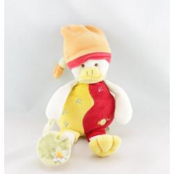 Doudou canard les doudous calins BABY NAT avec boite