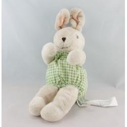 Doudou lapin beige vert carotte IKEA