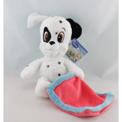 Doudou chien dalmatien mouchoir DISNEY
