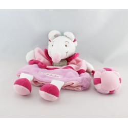 Doudou et compagnie hochet souris rose Graines de doudou