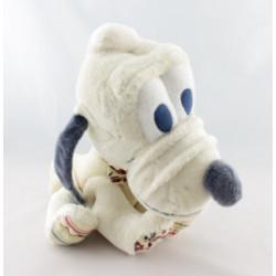 Peluche Chien Pluto boutons L'ami de Mickey DISNEY