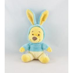 Doudou Winnie l'ourson déguisé en lapin vert Collection DISNEY STORE