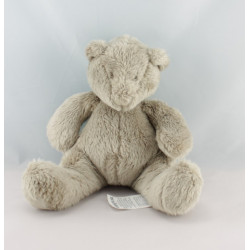 Doudou musical ours blanc Basile et Lola MOULIN ROTY