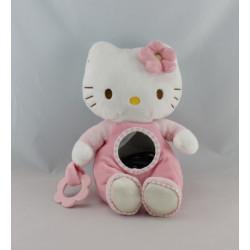 Doudou hochet Hello Kitty rose