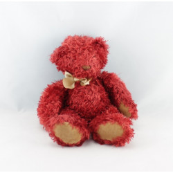Doudou ours rouge MOULIN ROTY