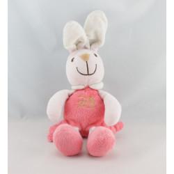 Doudou lapin rose landau PLAYKIDS 52 CM