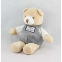 Doudou et compagnie pantin ours gris écru