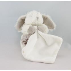 Doudou Lapin blanc mouchoir Baby nat