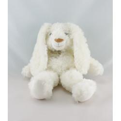 Doudou lapin blanc tout doux HISTOIRE D'OURS