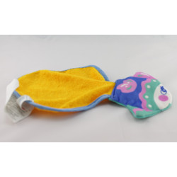 Doudou plat poisson éponge FISHER PRICE