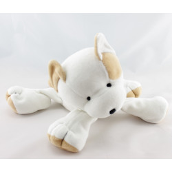 Doudou chat blanc beige ANNA CLUB PLUSH