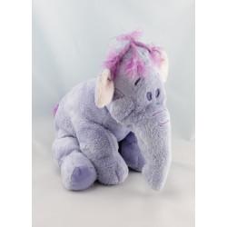 Doudou  Eléphant mauve - l'éfélant Lumpy Winnie Disney NICOTOY