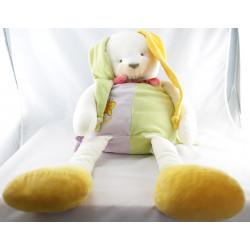 Doudou et compagnie lapin lapinou range pyjama