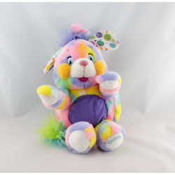 Peluche Popples taches multicolores MATTEL
