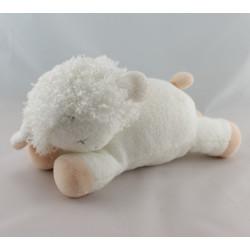 Doudou agneau mouton blanc LUMINOU