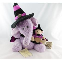 Peluche Lumpy l'éléphant déguisé en sorcier Edition Limitée Disney Store