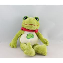 Doudou grenouille verte qui coasse GIPSY