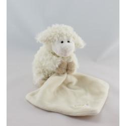 Doudou mouton blanc mouchoir BABY NAT