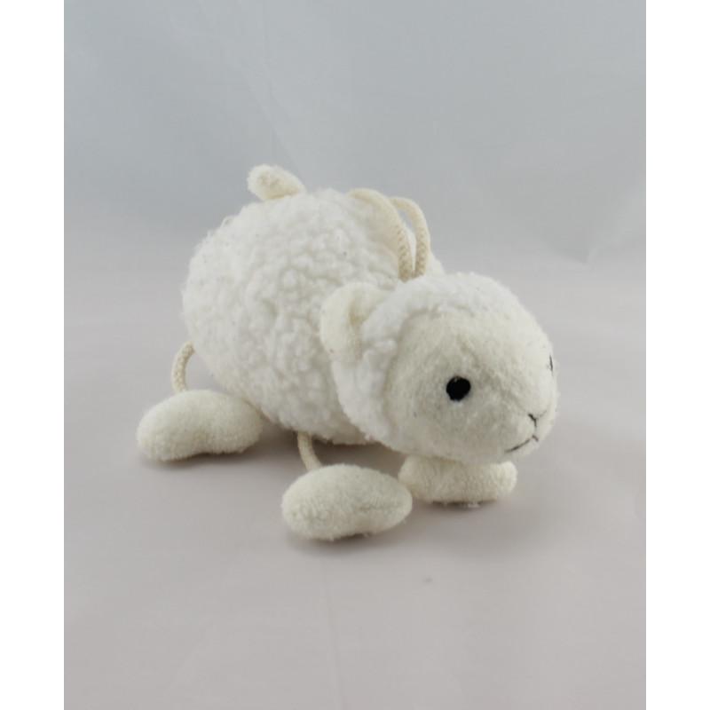 Doudou mouton blanc SERGENT MAJOR