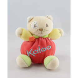 Mini Doudou chat rouge jaune vert KALOO