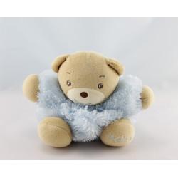 Doudou ours bleu fourrure Fur KALOO