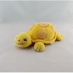 Doudou Tortue jaune orange BABYGELLA