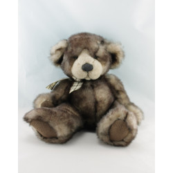 Peluche ours marron CAPPUCCINO RUSS BERRIE
