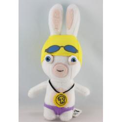 Doudou lapin crétin nageur UBISOFT