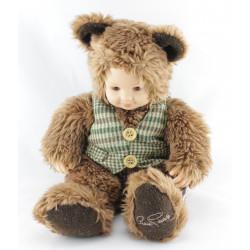 Poupée ours brun ANNE GEDDES  30 cm