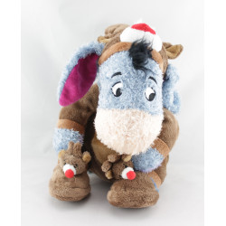 Doudou Bourriquet déguisé en renne cerf  Noël Collection Disney