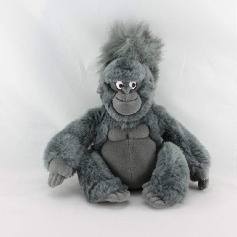 Peluche singe gris noir Tok Tarzan DISNEY