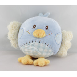 Doudou oiseau bleu TAKINOU