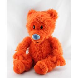 Grand Peluche Ojo ours orange Tibére WALT DISNEY