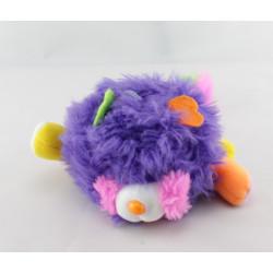 Mini Peluche Popples violet vert année 1986