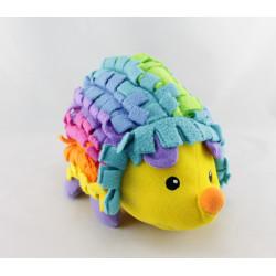Doudou hérisson multicolore grelot FISHER PRICE