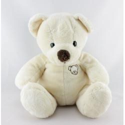 Doudou ours blanc créme NICOTOY