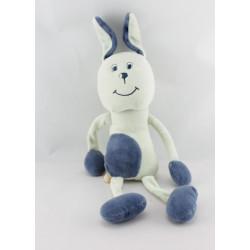 Doudou chien bleu SUCRE D'ORGE