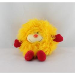 Ancienne Peluche Rainbow blondine jaune Année 1983