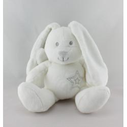 Doudou lapin blanc ailes d'ange KIMBALOO LA HALLE