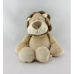 Doudou lion beige marron NOUKIE'S